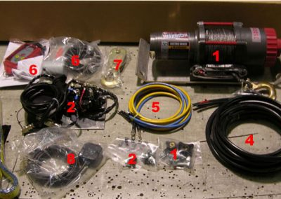 Winch Kit Parts 1